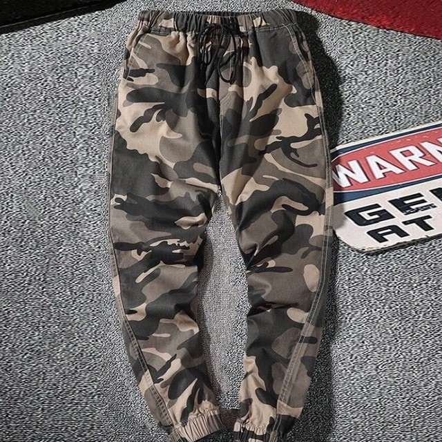 High Waist Pants Loose Female Trousers Camouflage Cargo Pants Women Streetwear Casual Joggers Outdoor Pants