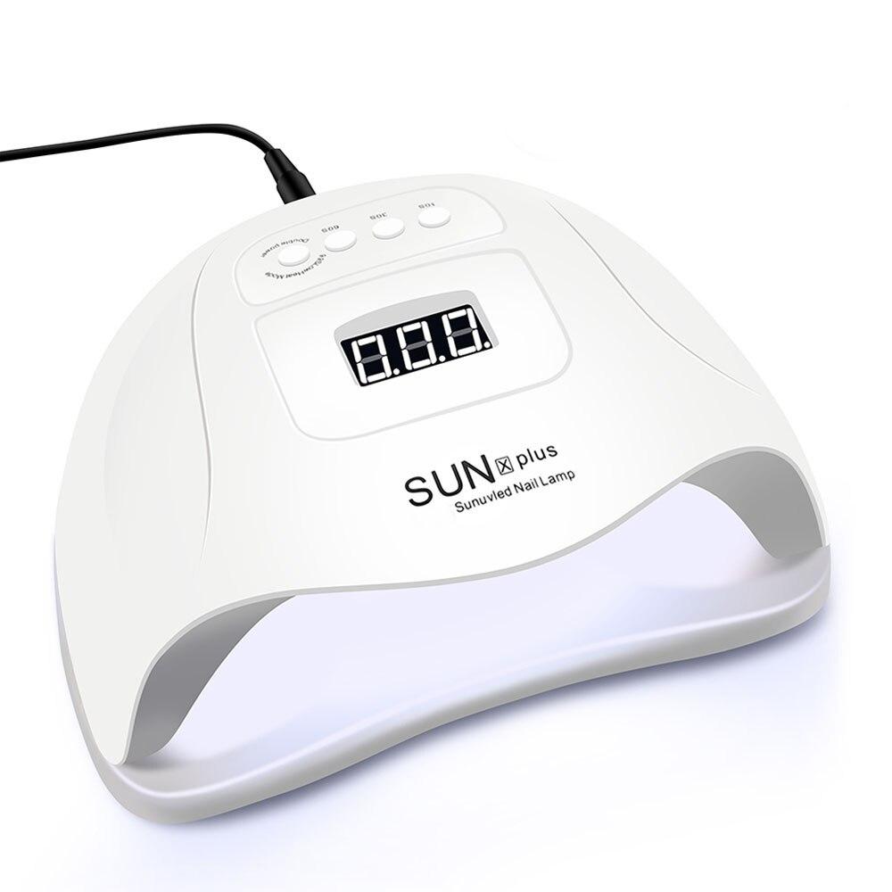 72W Nail Dryer LED Nail Lamp For Manicure 36 Pcs Light Bead UV Lamp LCD Display Drying All Gels Nail Polish Nail Art Tools