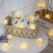 String Lights Rattan Balls…