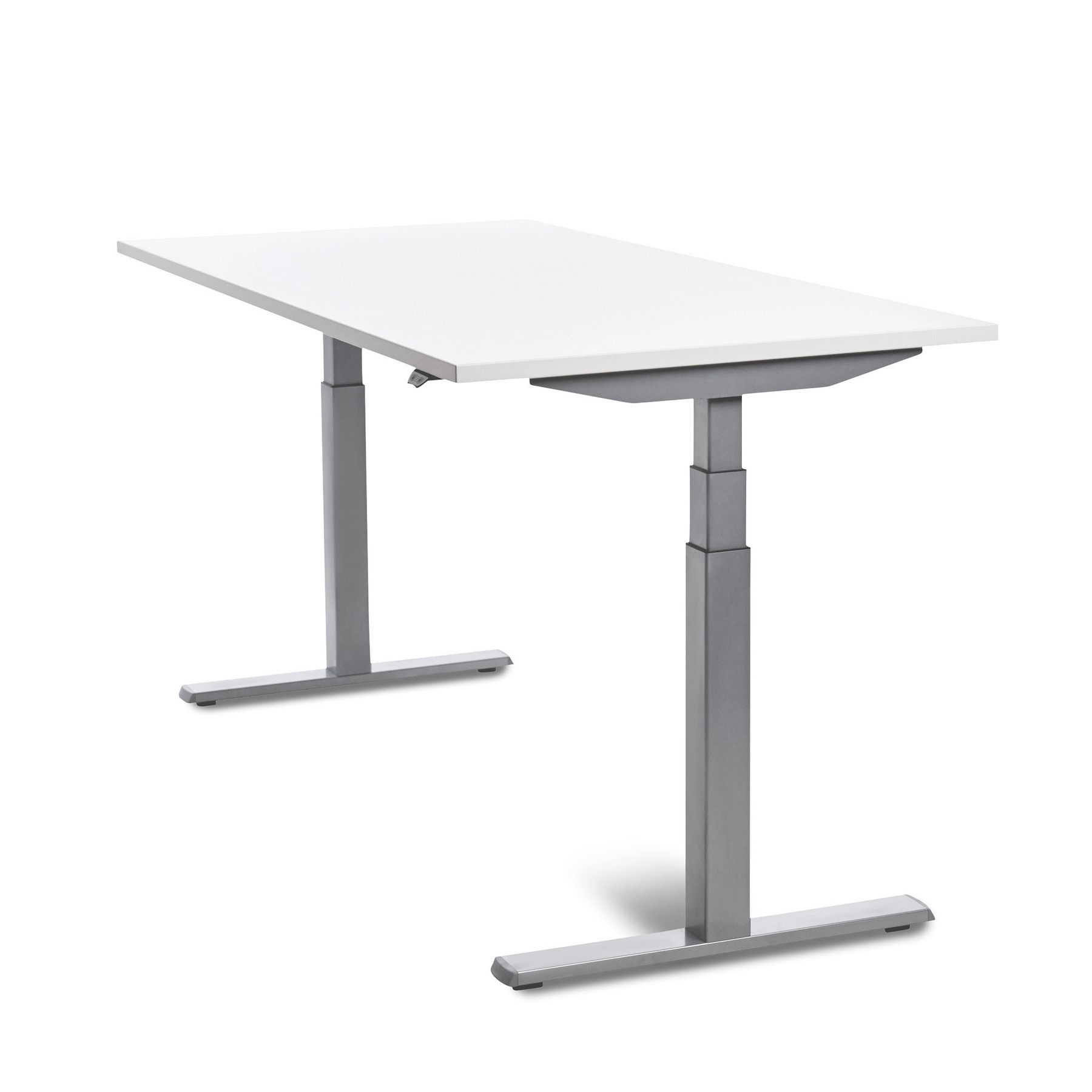 160cm HEIGHT ADJUSTABLE ELECTRICALLY DASH TABLE WHITE COLOR