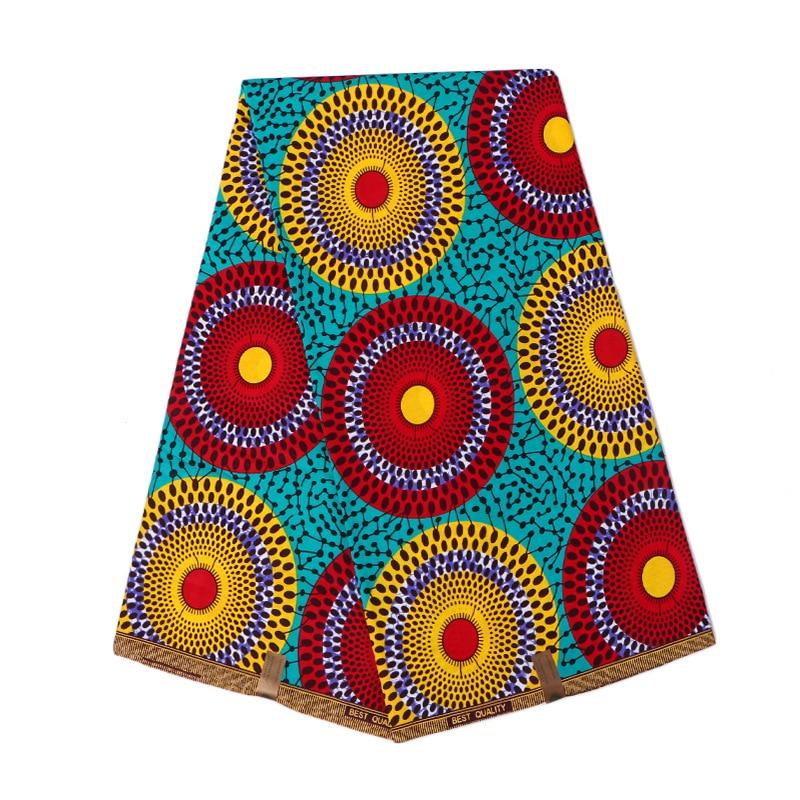 100% Cotton Veritable Dutch Wax Veritable Block Print Dutch Wax High Quality Wax 6yards African Ankara Fabric