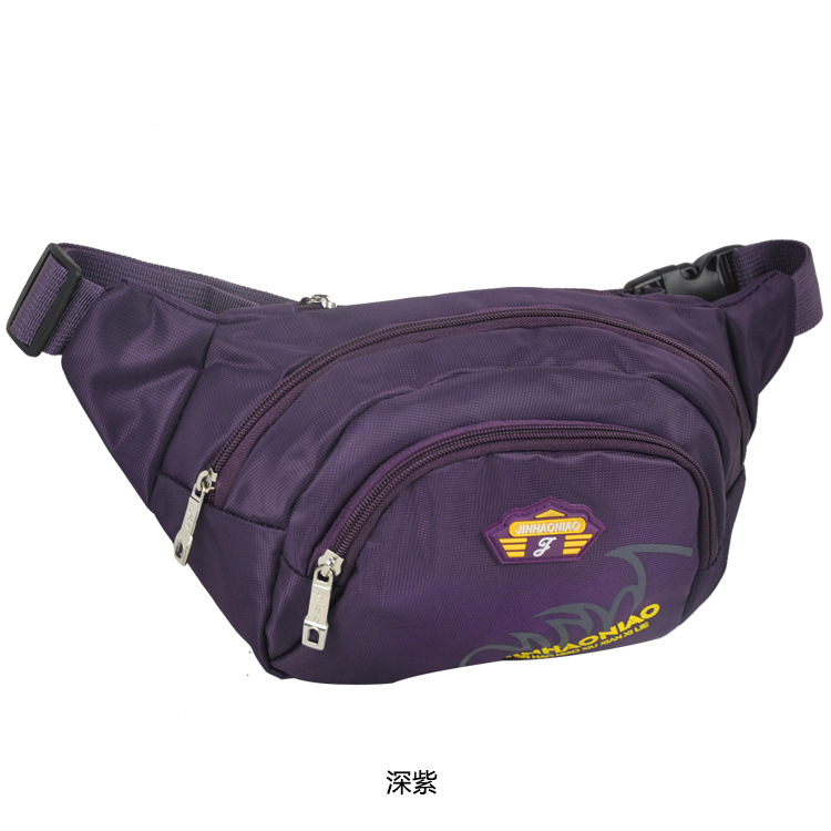 [Factory Price] Sports Casual Multi-functional Travel Wallet Chest Waist Destroyed Shoulder All-in-One Y8034