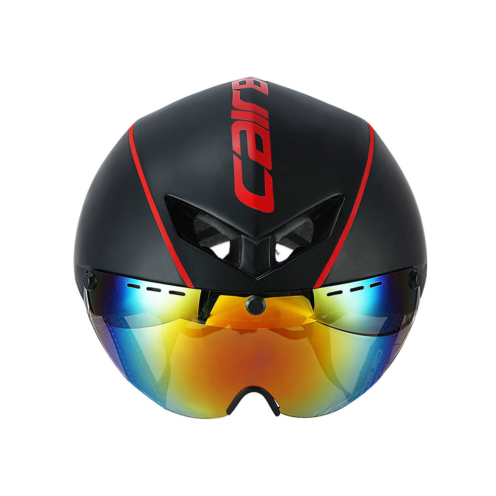 54-60CM Integrally-molded Bicycle Helmet Racing Safety Helmet Bike with Magnetic Goggles Mountain Road Cycling Helmet EPS