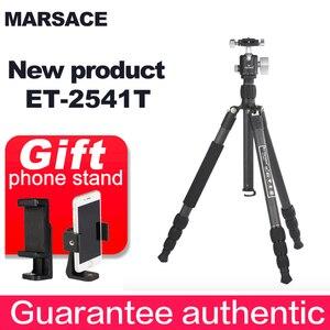 MARSACE ET-2541T новая зеркальная фотокамера рефлекторная портативная головка штатива из углеродного волокна