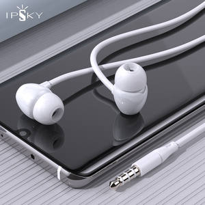 Universal Stereo Bass Earphone Headphone 3.5mm with Microphone Wired Control Gaming Headset For Samsung Xiaomi Sports In-ear MP3