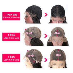 Image 5 - וונדר ילדה גוף גל 13x6 תחרה מול שיער טבעי פאות רמי 360 תחרה פרונטאלית פאה מראש קטף עם תינוק שיער 13x4Peruvian תחרה פאה