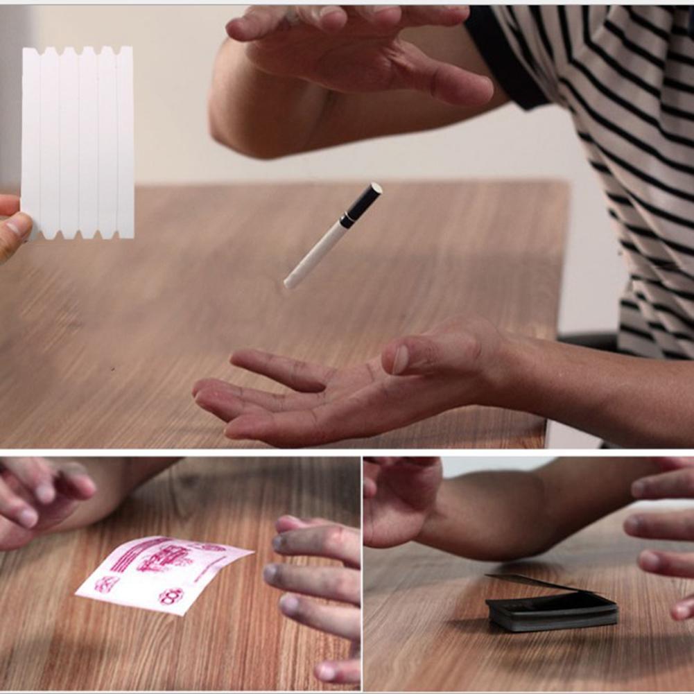 Elastic Invisible Coil Metal Floating Hidden Thread Loops Magic Trick Props Suspension Magic Prop Children Perform Tool