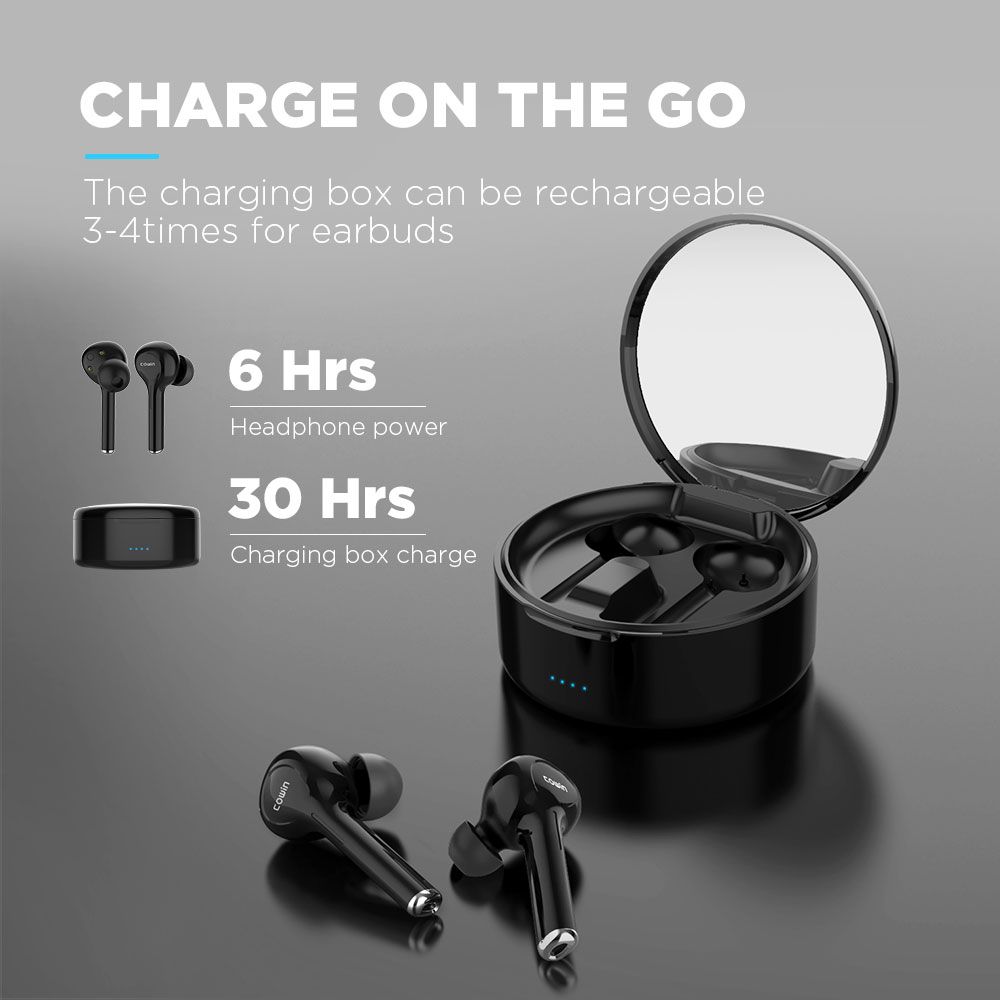 COWIN KY03 Bluetooth 5.0 headphones TWS wireless 5.0 Earphone sport waterproof Earbuds Headset For all smart Phone Xiaomi