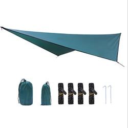 Namiot baldachim outdoor diamentowa mata kempingowa wodoodporna osłona przeciwsłoneczna plaid wielofunkcyjny baldachim