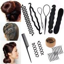 Plastic Hair Styling Tool Braider Sponge Hair