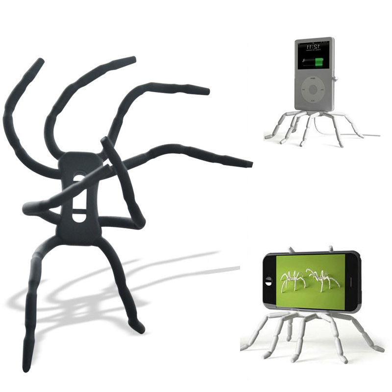 Universal Spider Phone Tablet Stand Holder Adjustable Grip Car Desk Phone Kickstands Mount Support For IPhone Samsung Huawei