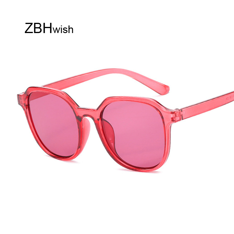 New Small Frame Sunglasses Women's Brand Designer Retro Personality Transparent Glasses Fashion Trend UV400 Gafas De Sol Mujer
