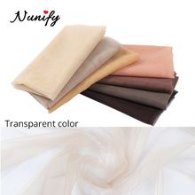 Nunify Swiss Lace Net Hair Nets Invisible Making 1Yard Swiss Lace Net For Making Lace Wig Hairnet Accessories Weaving Cap Tools