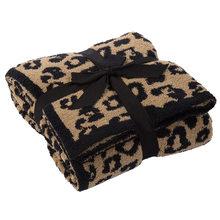Cobertores de lã de impressão de leopardo, cobertores de lã de alta qualidade e cobertores de sofá, cobertor leve super macio e confortável