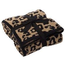 Leopard Print Fleece Blankets, High-grade Fleece Blankets and Sofa Blankets, Super Soft and Comfortable Lightweight Blanket