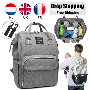 Lequeen Baby Bags Stroller Bag For Mommy With Hooks Baby Diaper Organizer Backpack Bebe Changing Bag Large Maternity Mummy Bag