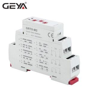 Image 4 - GEYA GRT8 M Einstellbare Multifunktions Timer Relais mit 10 Funktion Entscheidungen AC DC 12V 24V 220V 230V zeit Relais Din schiene