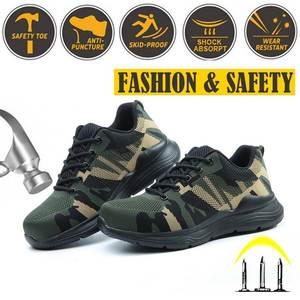 Shoes Anti-Piercing Breathable Lightweight Safety-Boots Construction-Site Insurance Labor