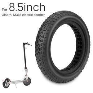 Image 5 - M365 Pro Roller Solide Reifen für Xiaomi Mijia M365 Skateboard 8,5 Nicht Pneumatische Dämpfung Reifen Stoßdämpfer Roller Kamera teil