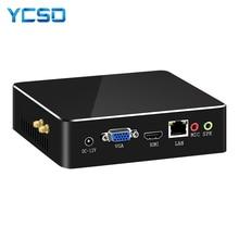 HLY i7 Mini PC Core i7 7500U 6500U 5500U Mini Computer Windows 10 pc mini Lüfter USB PC HDMI WIFI desktops laptops
