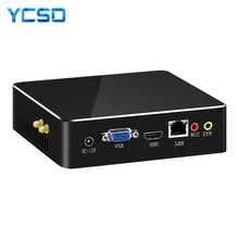 HLY i7 ミニ PC コア i7 7500U 6500U 5500U ミニコンピュータの Windows 10 pc ミニ冷却ファン USB PC の HDMI 無線 LAN デスクトップラップトップ