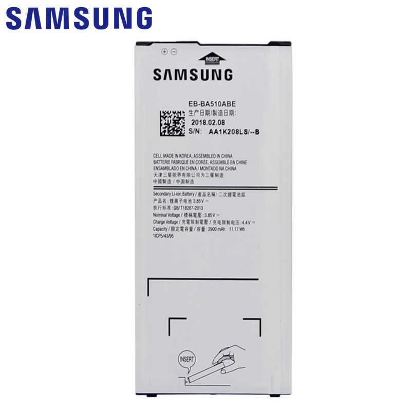 SAMSUNG แบตเตอรี่ EB-BA510ABE 2900mAh สำหรับ Samsung Galaxy A5 2016 A510 A510F A5100 A510M A510FD A510K A510S