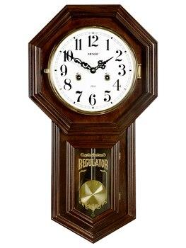Reloj de Pared grande Digital Vintage de lujo, silencioso, de madera, mecánico,...