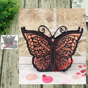 Metal Cutting Dies Butterfly box Stencils Scrapbooking Album Paper Decorative Craft New