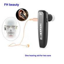 Невидимый мини слуховой аппарат, Перезаряжаемый для пожилых людей, усилитель бинаурального звука, слуховые аппараты, цифровой глухой слуховой аппарат, устройства для ухода за ушами