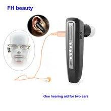 Mini aparelho auditivo invisível, recarregável para idosos, amplificador de som binaural, aparelho auditivo digital para surdos, ferramenta de cuidados com os ouvidos