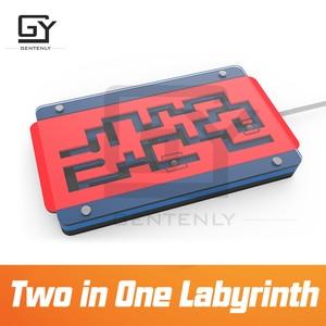 Головоломка из комнаты побега два в одном лабиринте комната побега игра prop два лабиринта вместе в одном достичь цели, чтобы разблокировать ...