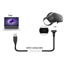 1/3/5/8M cavo di ricarica rapida per trasferimento dati USB tipo C per Oculus Quest Link supporto per Steam VR Quest cavo dati da tipo C a 3.1