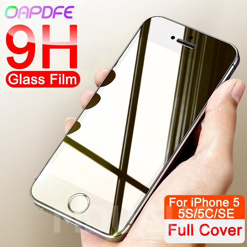 9H Anti-Burst Protective Glass On The For IPhone 5S SE 5C 5 Screen Protector Tempered Glass For IPhone 5S SE 4 4S Glass Film