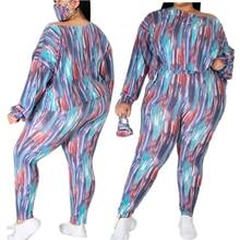 Tracksuits Women Set Pants-Sets Long-Sleeve Plus-Size Wholesale Casual 2piece And Top