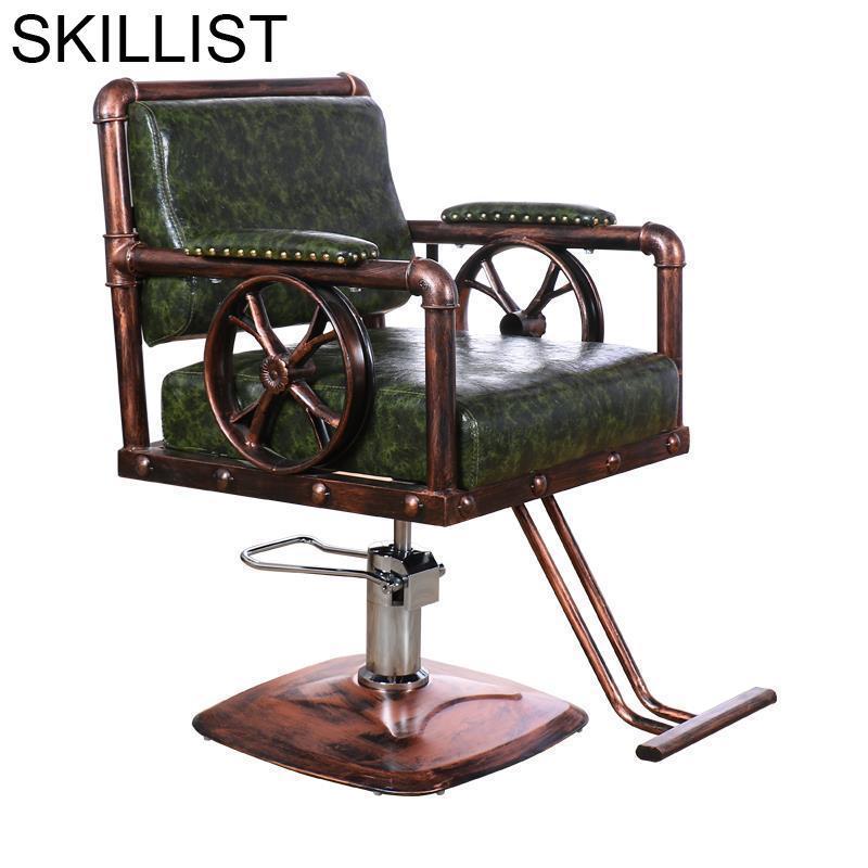Furniture Makeup Hair Barbeiro Stuhl Schoonheidssalon De Belleza Kappersstoelen Cadeira Barbershop Salon Shop Barber Chair