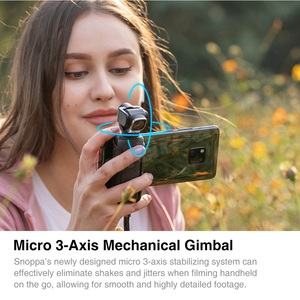 Image 4 - Snoppa Vmate 3 Axis Handheld Gimbal 4K Camera 200Mbps High Bitrate Video Record 118g WiFi 90° Rotating Lens VS Fimi Palm Moza