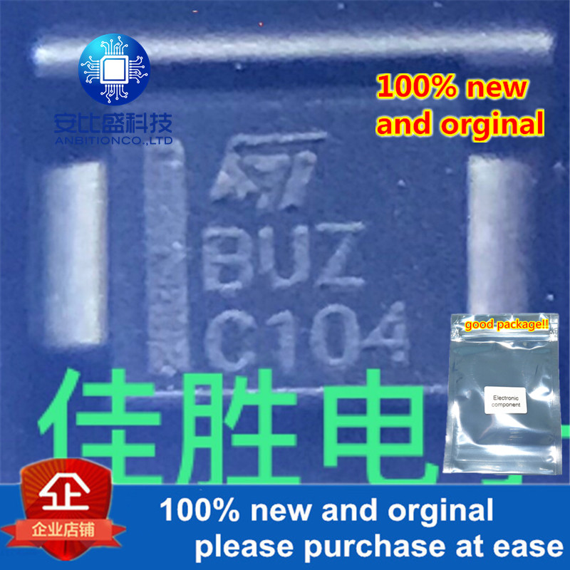 50pcs 100% New And Orginal SMBJ5.0A DO214AA Silk-screen BUZ In Stock
