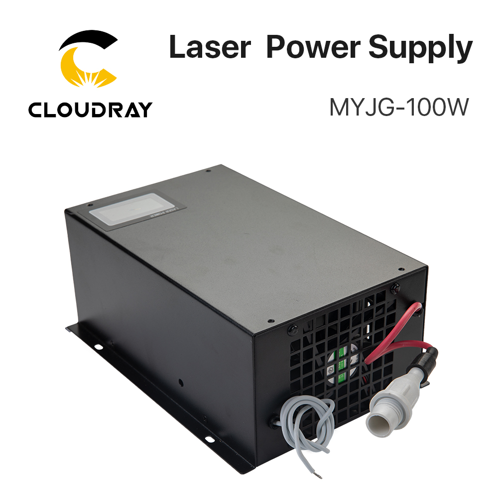Cloudray 80-100W CO2 laserový zdroj pro CO2 laserové gravírovací - Náhradní díly na dřevoobráběcí stroje - Fotografie 2