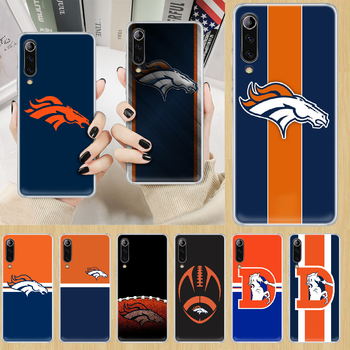 Denver Bronco American Football Phone Case cover For XIAOMI redmi note K 4 5 6 7 8 9 10 20 30 3 A X Pro ultra transparent back image