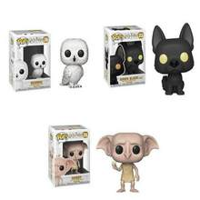 Coleção de action toy figures do Harry Potter, POP, Harry Potter, Hedwig, Sirius Black, Dobby, Snape, Voldemort, Luna, RON, Hermione, brinquedos miniatura, presentes, crianças(China)