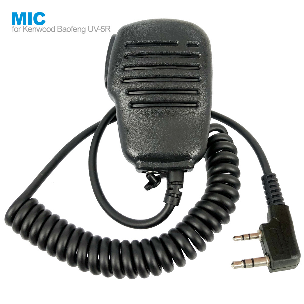 New Portable Speaker Mic Microphone For Baofeng UV-5R BF-888S Kenwood PUXING WOUXUN HYT Walkie Talkie Two Way Radio