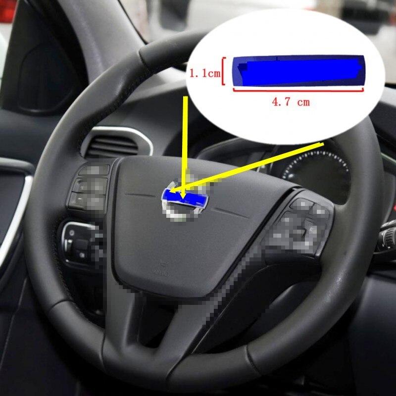 Рулевая этикетка для S60 S80 V40 V60 XC60 XC90 логотип рулевого механизма Volvo синий значок OEM 31467395