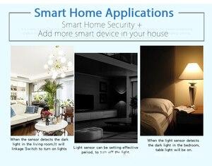 Image 5 - Tuya умный дом 180 ° WIFI датчик освещенности умный WiFi датчик яркости Умный Свет Питание от USB светильник датчик