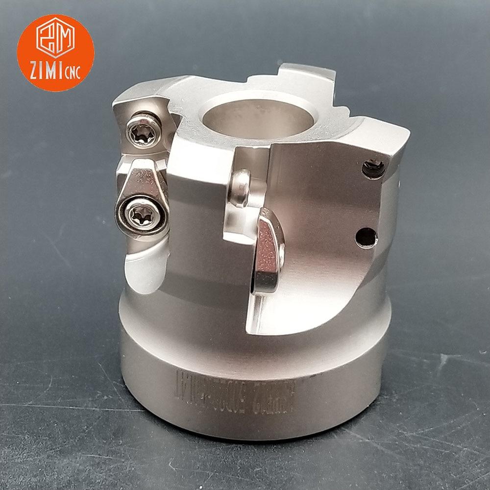 1pcs ASRF12-50-22 D50mm*d22mm*L50mm 4blade CNC lathe face milling cutter for SDMT120512 carbide insert CNC lathe milling cutter