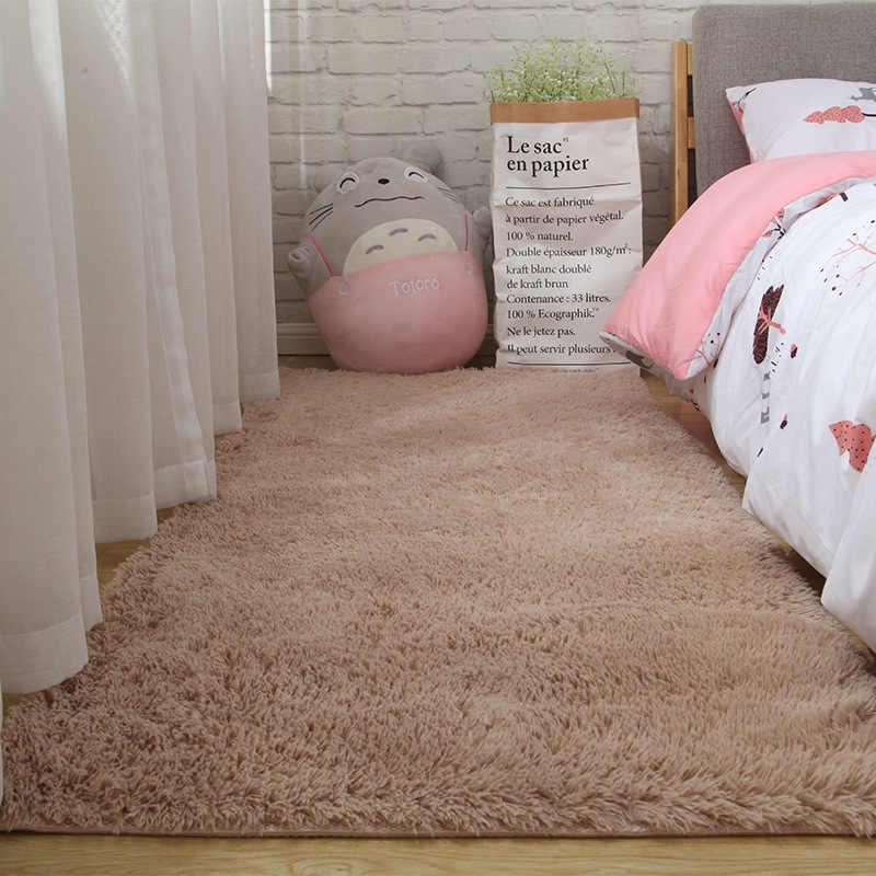 นุ่มอาร์กติกกำมะหยี่พรมในร่มพรมเด็กเล่นพรมโซฟาห้องนั่งเล่นห้องนอนเสื่อ