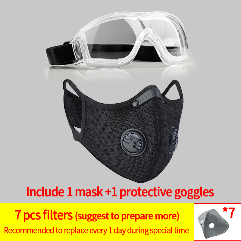 1mask and 1goggles#8