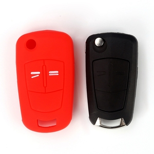 Image 4 - Hot silicone car key cover case shell fob for Vauxhall Opel Corsa Astra Vectra Signum 2 Buttons  remote key shell