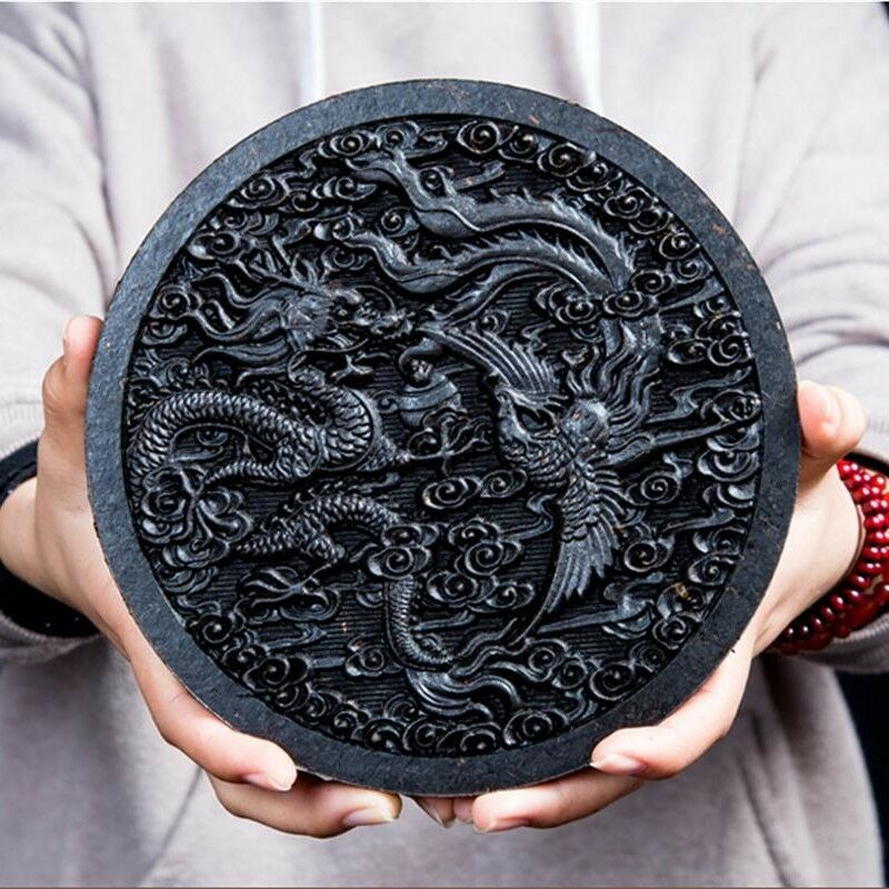Originale Pao Da Hong Torta Dragon & Phenix Grande Abito Rosso di Oolong Pao 500g