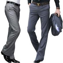 Новинка 2020 брюки с микро Рогом мужские деловые белые прямые