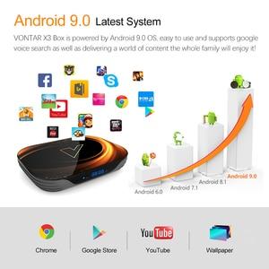Image 4 - 2020 VONTAR X3 TV 박스 안드로이드 9 4 기가 바이트 128 기가 바이트 8K Amlogic S905X3 듀얼 와이파이 1080P 4K 유튜브 안드로이드 9.0 셋톱 박스 4 기가 바이트 64 기가 바이트 32 기가 바이트